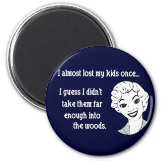 Funny Retro Mom Magnet