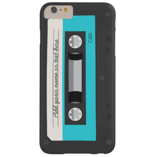 Funny Retro Music Cassette Tape Custom Barely There iPhone 6 Plus Case