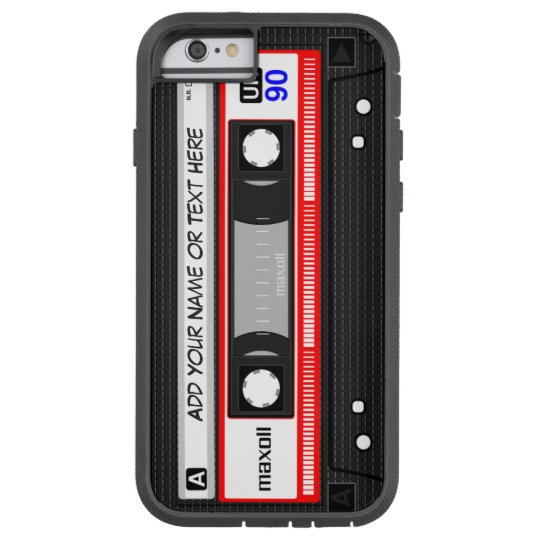 Funny Retro Music Cassette Tape Pattern Tough Xtreme
