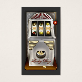 Funny Retro Slot Machine