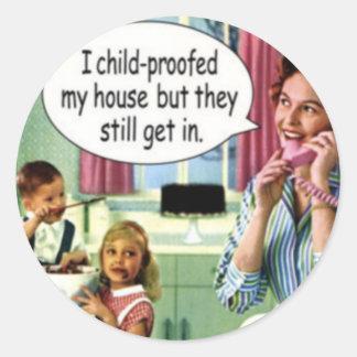 Funny Retro Stickers 1