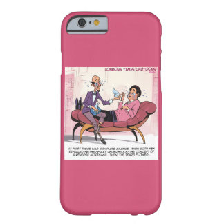 Funny Reverse Mortgage Therapy iPhone 6 Case Barely There iPhone 6 Case