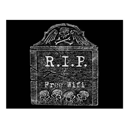 Funny RIP Post Cards