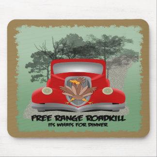 Funny Roadkill Mousepad
