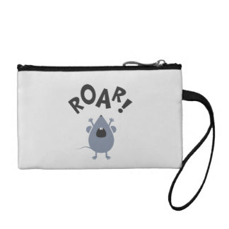 Funny Roar Mouse Design Coin Purse