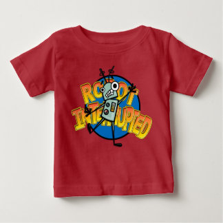 FUNNY ROBOT INFANT BABY T-SHIRT