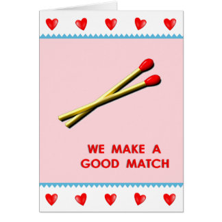 funny romantic Valentine's Day message Greeting Card