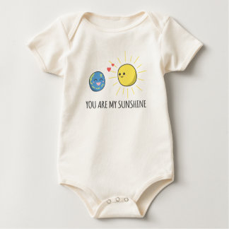 Funny Romantic You Are My Sunshine | Bodysuit