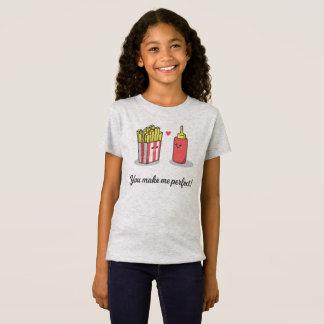 Funny Romantic You Make Me Perfect | Jersey Shirt