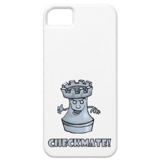 Funny rook chess piece (cartoon) checkmate! iPhone 5 cases