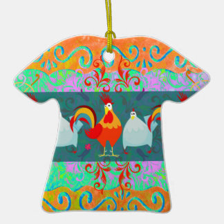 Funny Rooster Hen Funky Chicken Farm Animal Gifts Ornaments