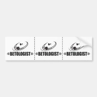 Funny Roulette Betting Bumper Sticker