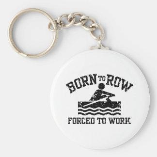 Funny Rowing Key Ring