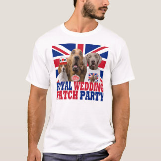 Funny Royal Wedding Watch Party T-shirt