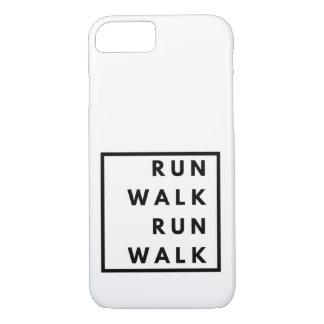 Funny Run Walk Run Walk iPhone 8/7 Case