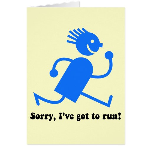 poster saying for runners funny | just b.CAUSE