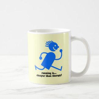 Funny running mugs