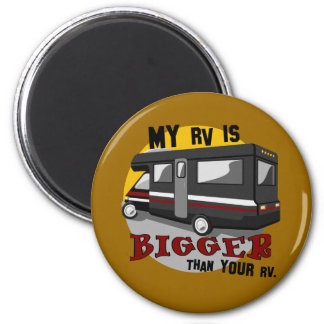 Funny RV Camping Magnet