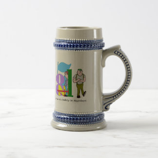 Funny Safety In Numbers T-shirts Gifts Beer Stein