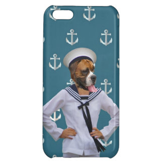 Funny sailor dog character iPhone 5C case