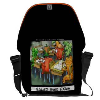 Funny Salad Bar Exam Messenger Bag
