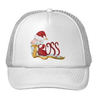 Funny Santa boss Christmas Trucker Hat