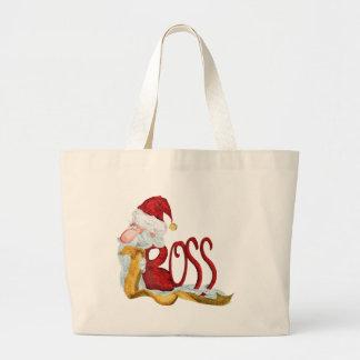 Funny Santa boss Christmas Jumbo Tote Bag