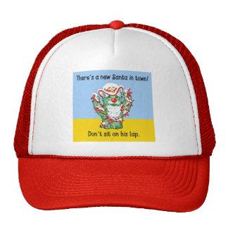Funny Santa Claus Cactus Christmas Humor Trucker Hat