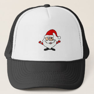 Funny Santa Claus Christmas Design Trucker Hat