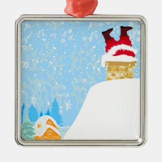 Funny Santa Claus Decoration