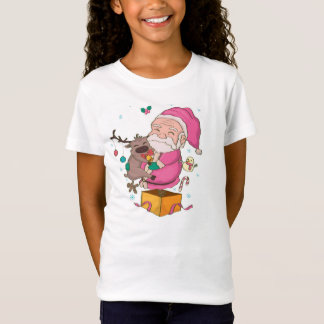 Funny Santa Claus design for your kid T Shirt