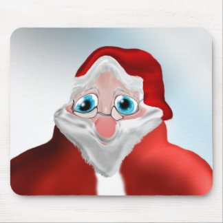 funny santa claus Mousepad