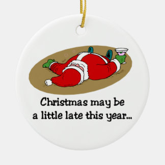 Funny Santa Claus Ornament