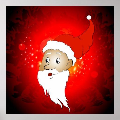 Funny Santa claus Posters