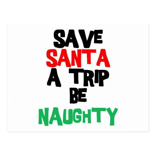 Funny Santa Claus T-Shirt Sweatshirt Gift Post Cards