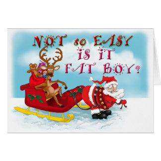 Funny reindeer christmas greeting cards for Funny reindeer christmas cards
