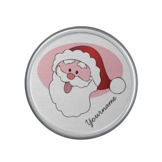 Funny Santa custom bluetooth speaker