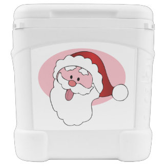 Funny Santa custom cooler