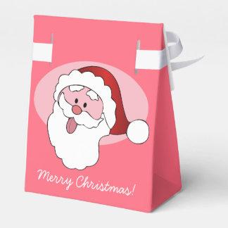Funny Santa custom favor box Favour Box