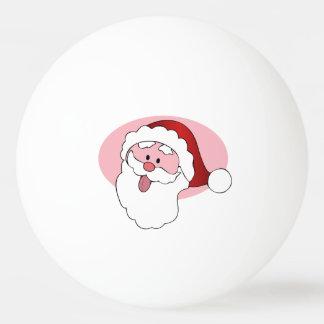 Funny Santa custom ping pong balls