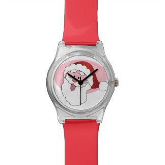 Funny Santa custom watches