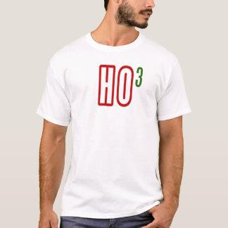 funny SANTA HO3 HO HO HO FUNNY CHRISTMAS HUMOR T-Shirt
