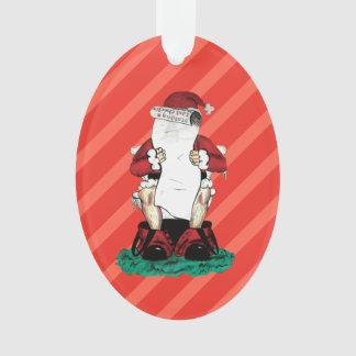 Funny Santa Ornament