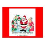 Funny Santa picture