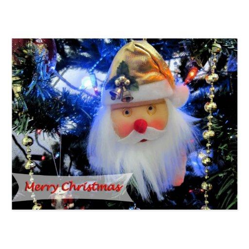 Funny Santa Postcard
