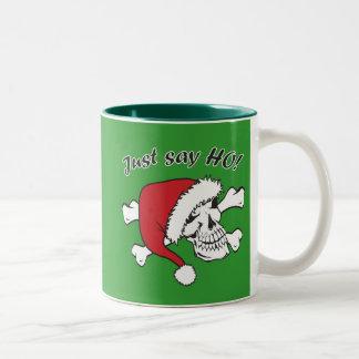 Funny Santa Skull Mugs