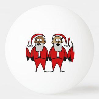 Funny Santas Ping Pong Ball