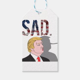 Funny sarcastic sad anti President Donald Trump Gift Tags