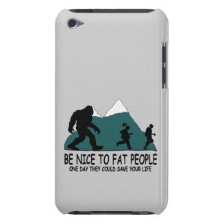 Funny Sasquatch Barely There iPod Covers