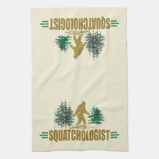 Funny Sasquatch, Bigfoot Towels